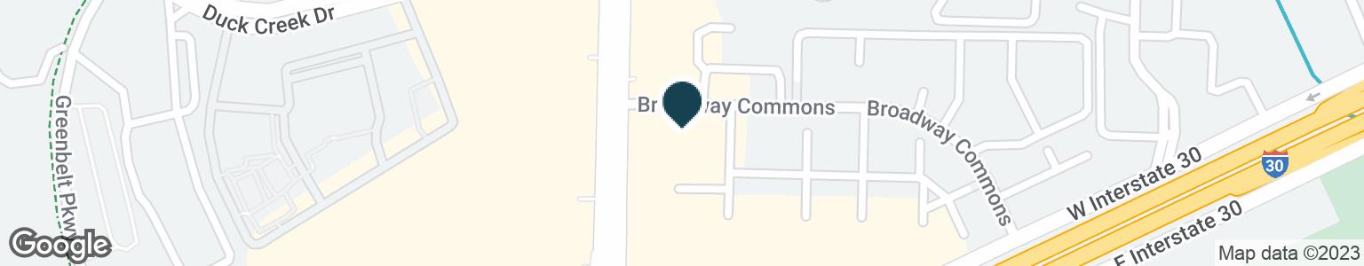 Google Map of5950 BROADWAY BLVD
