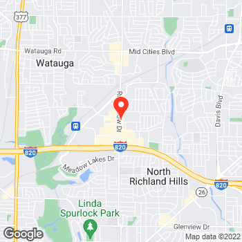 Map of Pizza in North Richland Hills, TX – Cicis Pizza at 5300 Rufe Snow Dr, North Richland Hills, TX 76180