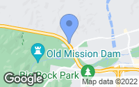Map of Santee, CA