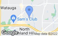 Map of North Richland Hills, TX