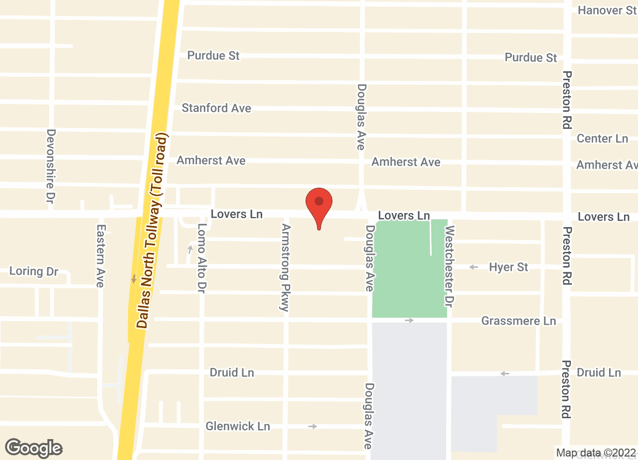 Google Map of VCA Park Cities Animal Hospital