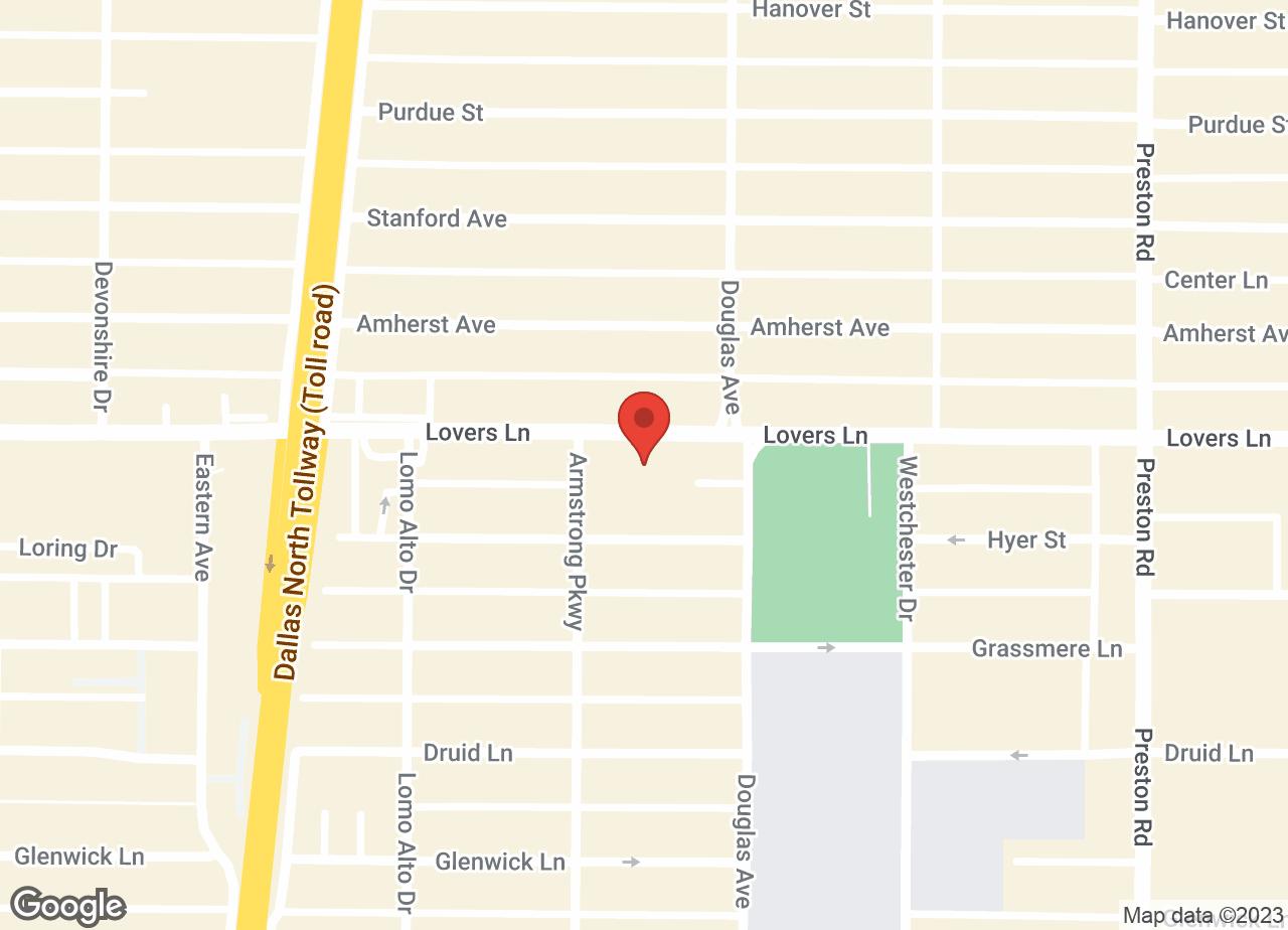 Google Map of VCA Park Cities Animal Hospital