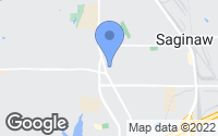 Map of Saginaw, TX