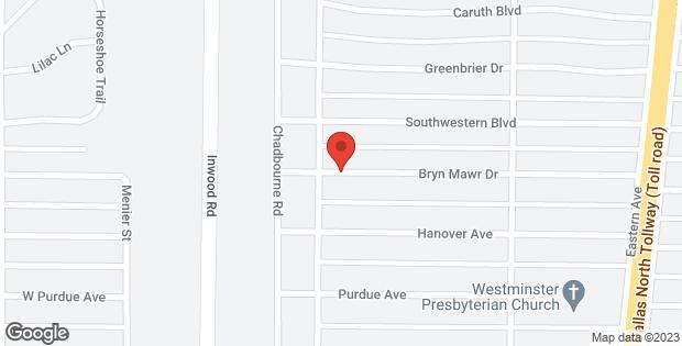 5519 Bryn Mawr Drive Dallas TX 75209