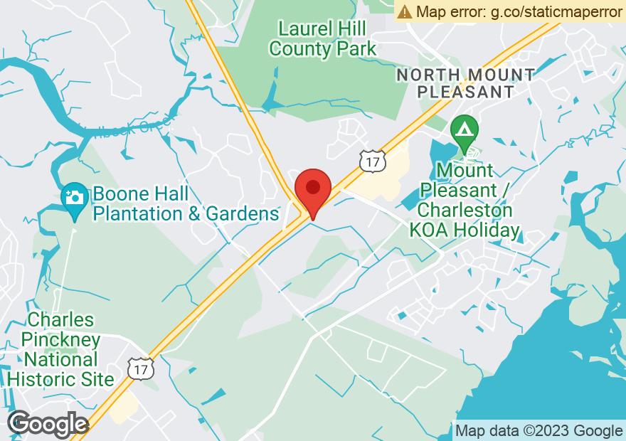 Google Map of 2903 N HIGHWAY 17