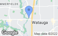 Map of Watauga, TX