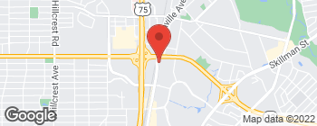 Map of 6500 Greenville Ave in Dallas