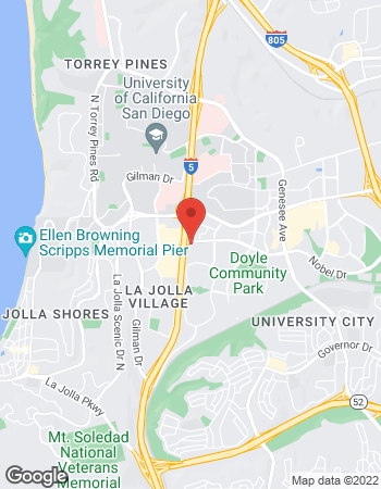 Map of Mathew Morgan - TIAA Financial Consultant at 3655 Nobel Drive, San Diego, CA 92122