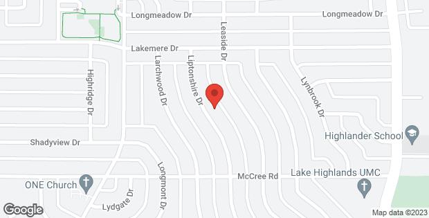9212 Liptonshire Drive Dallas TX 75238