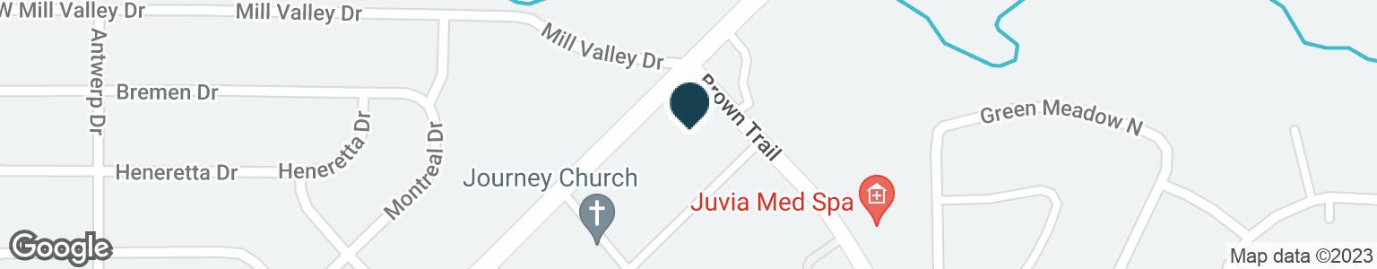 Google Map of4403 COLLEYVILLE BLVD