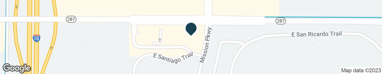 Google Map of2483 E FLORENCE BLVD