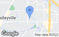 Map of Colleyville, TX