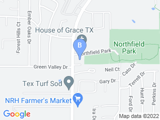 Map of Jerrys Paw Spa Dog Boarding options in N Richland Hills | Boarding