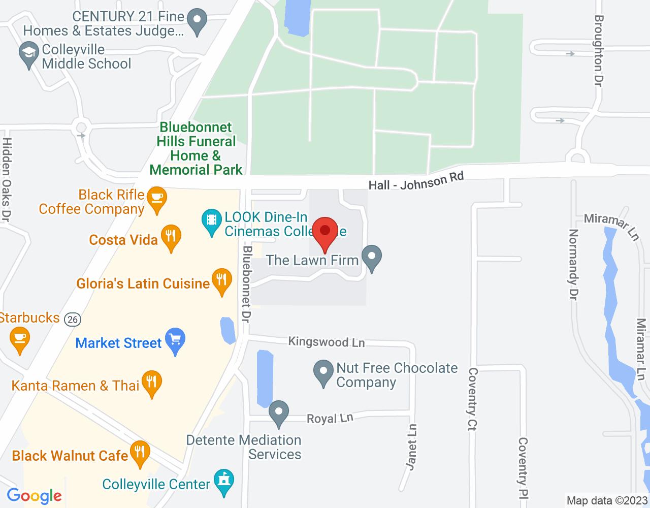 1513 Hall - Johnson Rd, Colleyville, TX 76034, USA