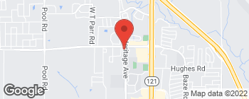 Map of 4100 Heritage Ave in Grapevine