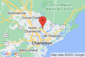 Map of Charleston Area