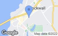 Map of Rockwall, TX