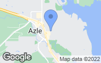Map of Azle, TX