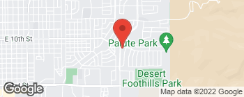 Map of 820 Scenic Dr in Alamogordo