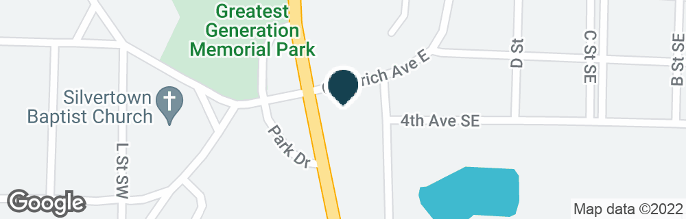 Google Map of634 N CHURCH ST