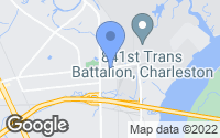 Map of North Charleston, SC