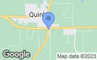 Map of Quinlan, TX