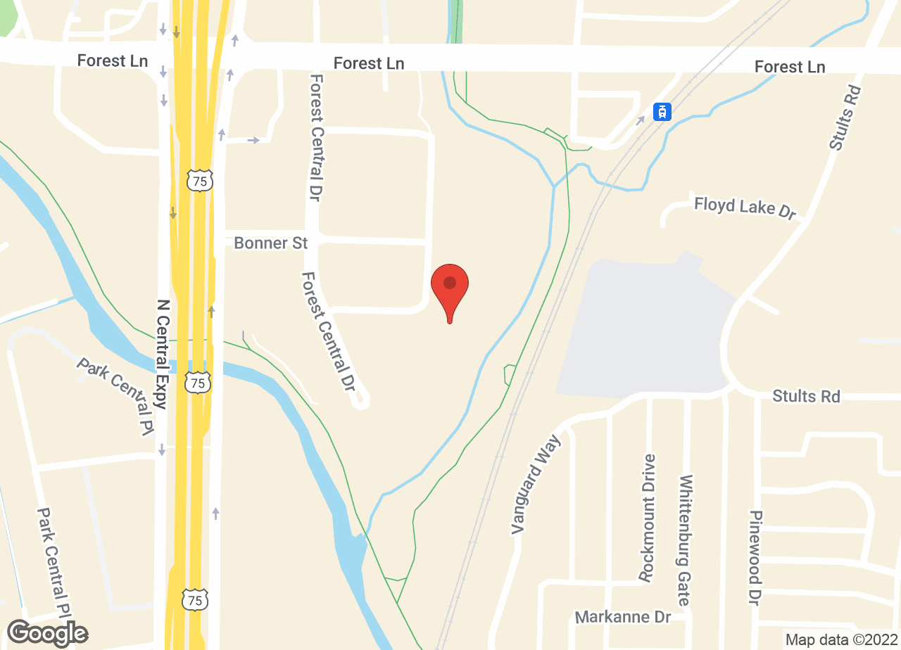 Google Map of VCA Central Expressway Animal Hospital