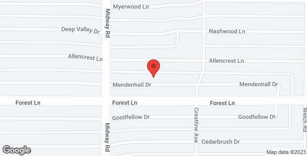 4249 Mendenhall Drive Dallas TX 75244