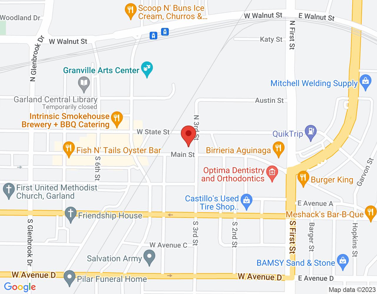 303 Main St, Garland, TX 75040, USA