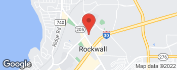 Map of 811 E Yellowjacket Ln in Rockwall