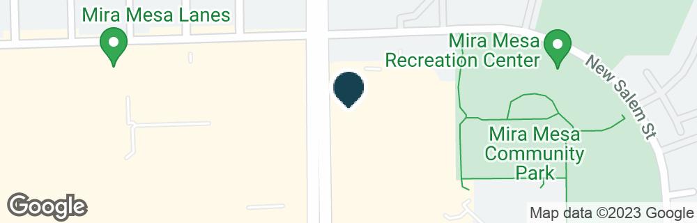 Google Map of10787 CAMINO RUIZ