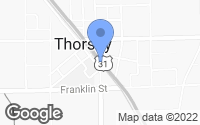 Map of Thorsby, AL