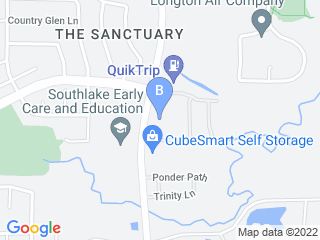 Map of Creekside Pet Care Center Dog Boarding options in Keller | Boarding