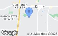 Map of Keller, TX