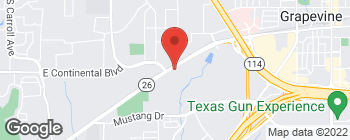 Map of 2401 Ira E Woods Ave in Grapevine