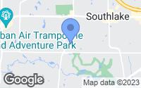 Map of Southlake, TX