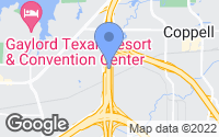 Map of Grapevine, TX