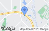 Map of Rowlett, TX
