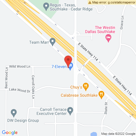 State Farm Insurance Companies - Petkus Glenda @ Southlake - Location Map