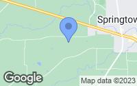 Map of Springtown, TX