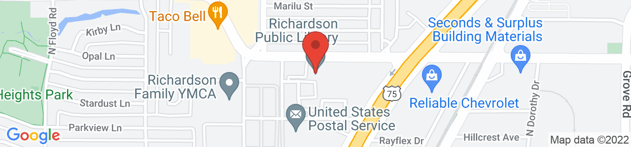Richardson Library, Civic Center Drive, Richardson, TX, United States