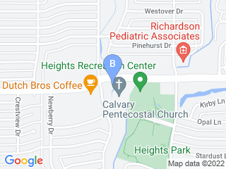 Map of Arapaho Road Animal Clinic Dog Boarding options in Richardson | Boarding