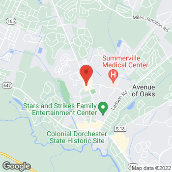 Map of Arby's at 1590 Old Trolley Rd, Summerville, SC 29485