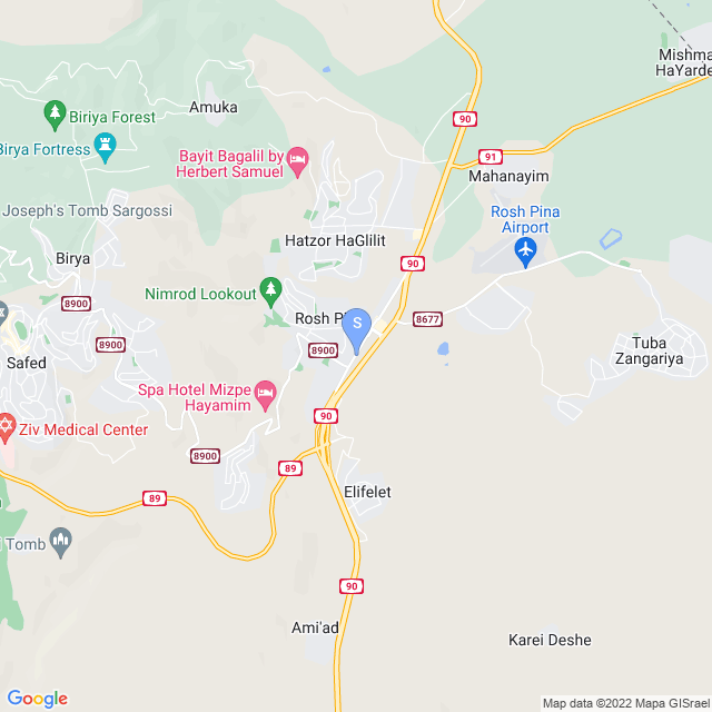 דרך הגליל 555, ראש פינה, ישראל