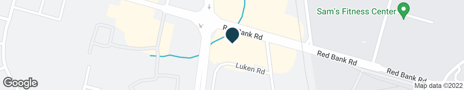 Google Map of1630 RED BANK RD