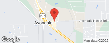 Map of 2484 Avondale Haslt Rd in Haslet