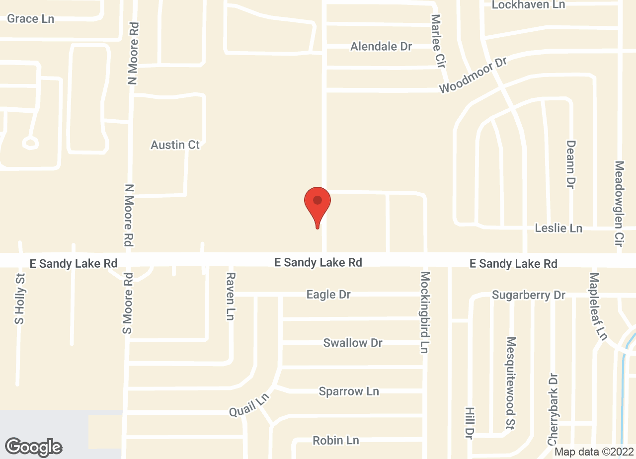 Google Map of VCA Sandy Lake Animal Hospital
