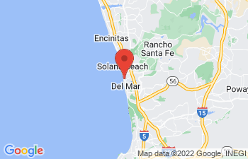 Map of Del Mar