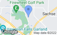 Map of Garland, TX