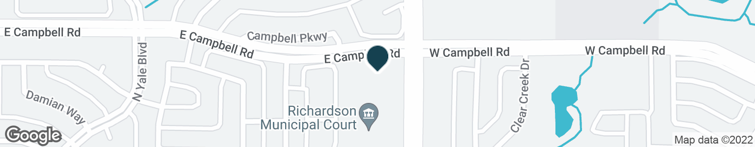 Google Map of2140 E CAMPBELL RD